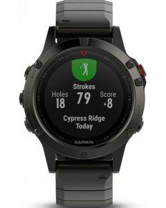 Fenix 5 GPS Fitness Watch - Slate Grey