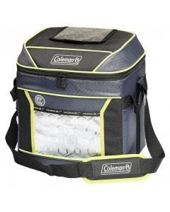 Coleman - Xtreme 24 Hour 30 Can Soft Cooler - Blue