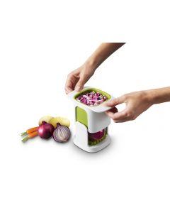 Joseph Joseph ChopCup Vegetable Dicer - White