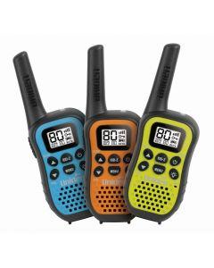 Uniden UH45-3 80 Channel UHF CB Handheld Radio w/ Kid Zone