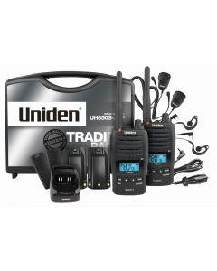 Uniden 5 Watt UHF Waterproof CB Handheld - Tradies Pack