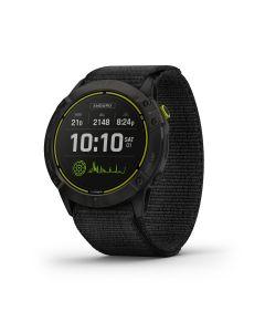 Garmin Enduro - Ultraperformance GPS Multisport Watch Carbon Gray DLC Titanium with UltraFit nylon strap 010-02408-01