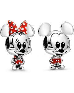Pandora Disney Mickey and Minnie Mouse Charm Set - RAU0708