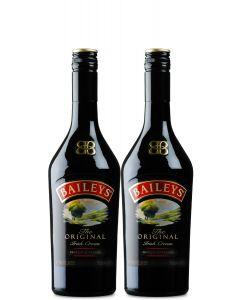 Baileys Irish Cream Coffee 700ml Twin Pack