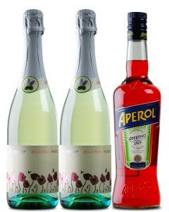 Aperol Spritz and Prosecco