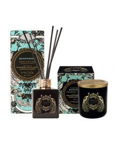 MOR Emporium Classics Bohemienne Fragrant Candle 380g and Reed Diffuser 180ml Set