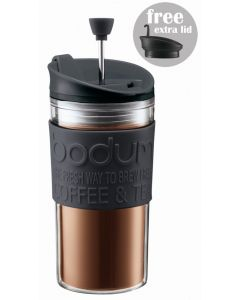 Bodum Coffee maker with extra lid 0.35 l 12 oz