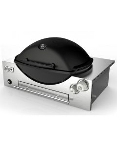 Weber Family Q Built In Premium (Q3600) LPG Bottle Gas Built In BBQ Black
