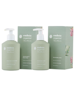 Endota Spa Nurture Gentle Baby Wash & Baby Lotion Pack