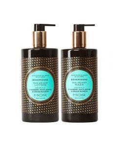 MOR Emporium Classics Bohemienne Hand & Body Wash 500ml and Hand & Body Lotion 500ml Set