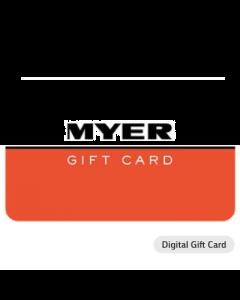 Myer $25 Digital Gift Card