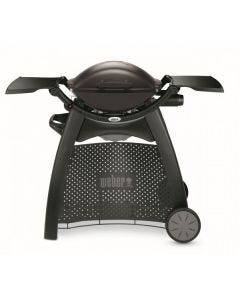 Weber Q Black Q2000 LP + Patio Cart