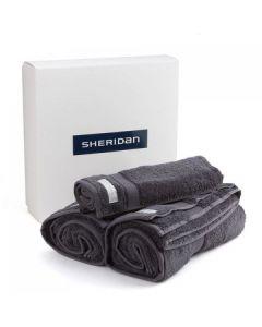 Sheridan - Luxury Egyptian Cotton Towel Set  3 Pack - Graphite