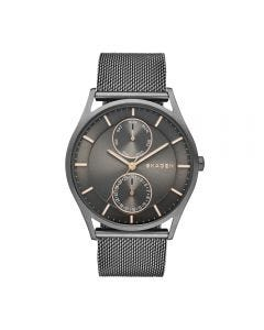 Skagen Men's Holst Multifunction Stainless Steel Mesh Watch