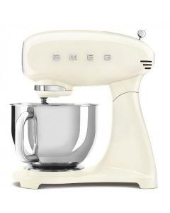 Smeg 4.8L Full Colour Electric Stand Mixer Cream