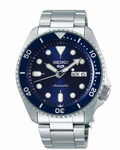 Seiko 5 Men's Sports Automatic Watch - Blue