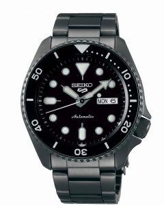 Seiko 5 Men's Sports Automatic Watch - Black