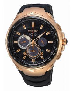 Seiko Men's Coutura Solar Chronograph Watch