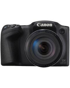 Canon - PowerShot SX430 IS 20.5MP Digital Still Camera - Black