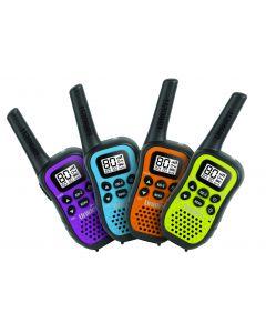 Uniden UHF Radio Quad Pack 0.5 W